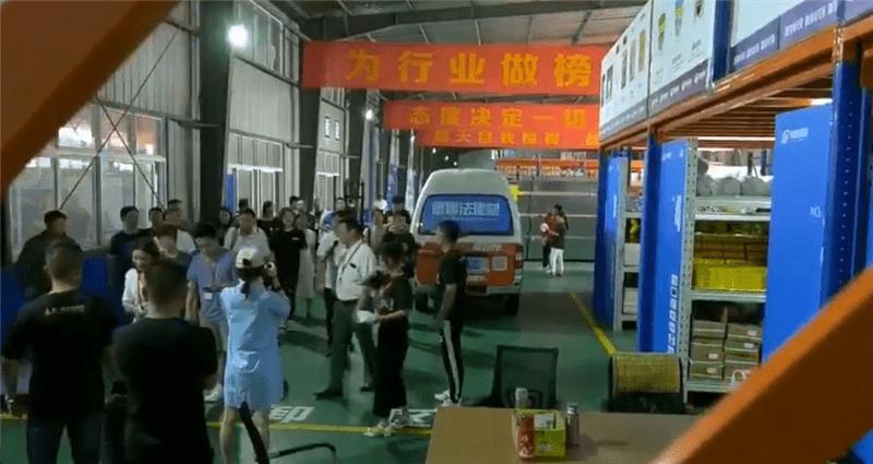 3500㎡德娜法建材仓储中心面向业主全新开放